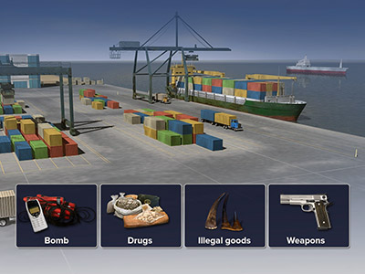 Introduction to law enforcement controls at seaports